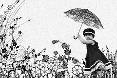 Fun in the rain (mylaphotography) Tags: art photo digitalart manipulation brush fairy fantasy editing photoshoped rahi childphotography jaber umberalla flickrsbest impressedbeauty mylaphotography michiganstudiophotography fairytalephotography