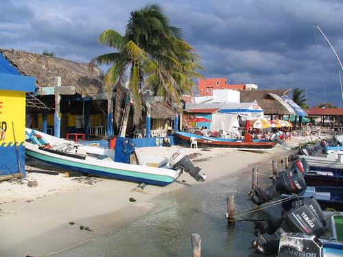 Harbour of Isla Mujerte