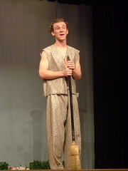 Puck Nauseef (rofltosh) Tags: kyle theater play midsummer performance dream homer nights puck society shakespearean