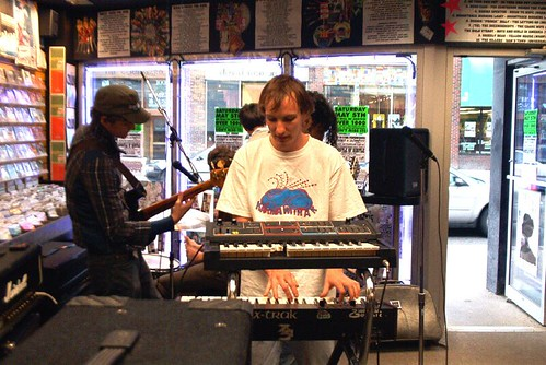 DD/MM/YYYY live! in-store performance @ Music Trader on May 14 2007