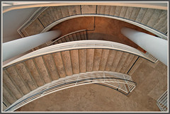 Doodle... (Julian E...) Tags: urban architecture modern stairs bravo curves steps getty winding lookingdown richardmeier meier supershot magicdonkey flickrsbest abigfave artlibre anawesomeshot ultimateshot diamondclassphotographer flickrdiamond