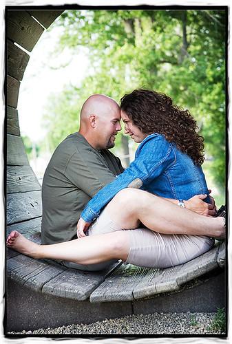 Indiana wedding engagement photography