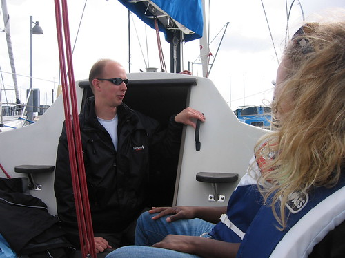 Sailing in Limfjorden