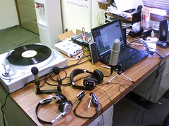 Mobile Podcast Recording Studio
