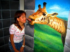 First Kiss? haha:D (Spice  Trying to Catch Up!) Tags: camera travel blue vacation portrait sky people woman holiday color green art me girl beautiful japan lady female canon myself geotagged asian person photography eos photo amazing interesting model colorful asia flickr image wordpress finger creative picture vivid blogger livejournal human photographs photograph enjoy wife  filipino giraffe trick pinay vox dslr kirin tao housewife  facebook missus  babae multiply larawan   twitter colorpicture  creativeimages colorimages  enjoyphotographs