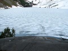 Lake Serene thawing