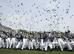 West Point Graduation. May 26, 2007.