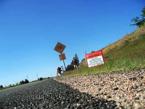 Coming back towards Boulder