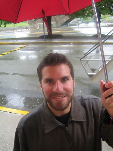 Kyle with Umbrella