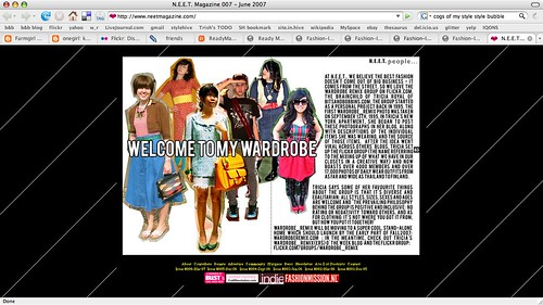 wardrobe_remix in NEET magazine