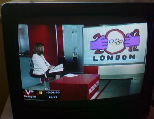 London 2012 Logo Goatse