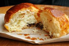 pain au chocolat innards
