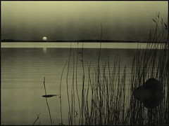 Evening serenity (Kirsten M Lentoft) Tags: old sunset bw lake topc25 topv111 denmark outstanding helluva outstandingshots arresø superaplus aplusphoto momse2600 kirstenmlentoft