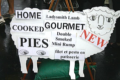 Ladysmith Lamb Sign