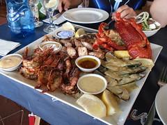 fish platter voor (Jacobine) Tags: fish southafrica knysna fishplatter suidafrika 34degreessouth