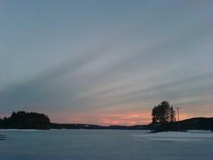 Trevatn sunset (roarpett) Tags: sunset lake ice spring solnedgang vr challengeyouwinner trevatn roarpettslideshow