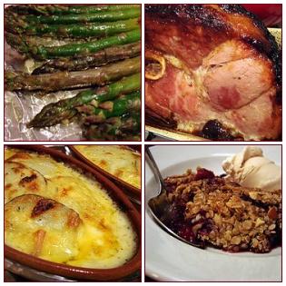 Easter Dinner 2007