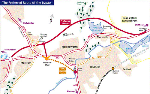 Bypass route