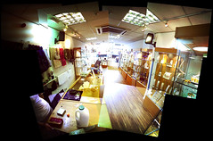 sparkle shop (Mon Quixote) Tags: composite montage knaresborough fauxpanolomography