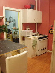 kitchen (MeggethPixel) Tags: ikea kitchen brooklyn diy paint apartment williamsburg eastwilliamsburg apartmenttherapycure apartmenttherapynewyork