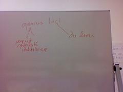 genius loci (à propos de Voksgeist dans L'identité culturelle de G. Vinsonneau)