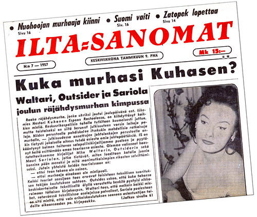 Kuka murhasi Kuhasen? Ilta=Sanomat 7/1957