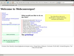 Flash-free and totally Free Software version of Webconverger