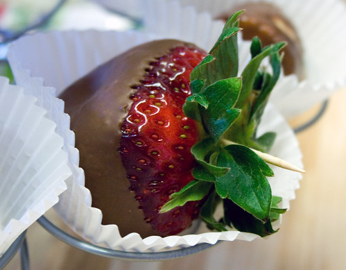 Which Chocolate Covered Strawberry is The Best~Strawberry 1 by Cindy's World.