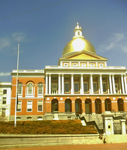 Boston State House, courtesy of Snurb on flickr