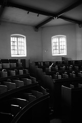 Mass for the Inmates (fbechwati) Tags: uk light shadow church digital religious monochromatic lincoln mass prisoners inmates