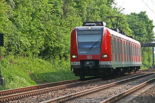 S5 nach Friedrichsdorf bei steinbach/taunus