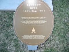 Liberty Bell Replica, 1950