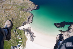 Land Here (: HimUpNorth :) Tags: sea water landscape outdoors scotland aerial highland shore remote sutherland lochinver paramotor wildspaces anawesomeshot aplusphoto auchmelvich