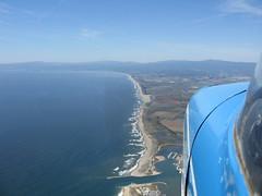 Citabria N5156X Along The Monterey Coast Behind