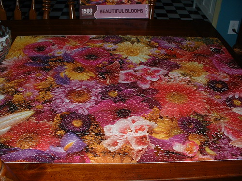 Beautiful Blooms puzzle