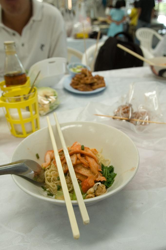 BangkokFood - Wanton Mee