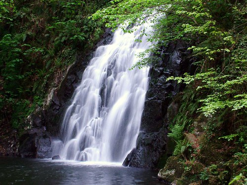 Glenoe Waterfall, Glens of Antrim, Northern Ireland Glenoe Waterfall