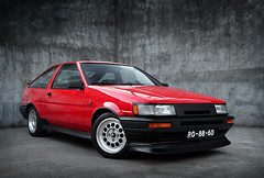 My AE86 (David Guimares) Tags: highfive jdm amateurs levin drift trueno trd ae86 sprinter hachiroku abeauty p1f1 amateurshighfive invitedphotosonly toyotacorollagttwincam