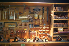 WW123: Tool Locker of a Carpenter (Craig Jewell Photography) Tags: iso800 f45 18sec pentaxk10d smcpentaxda1855mmf3556al cpjsm craigjewellphotography