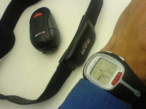 Polar RS200sd heart rate montitor