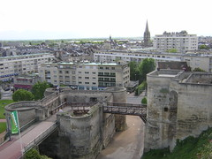 Ramparts in Caen