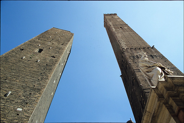The Two Towers of Bologna
