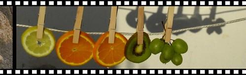 secando fruta