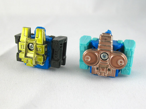 "Godmasters Zetoca and Aquastar in ""engine"" mode."
