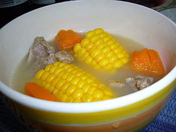 corn and carrot soup