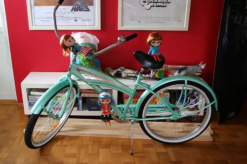My birthday present: a cruiser bike