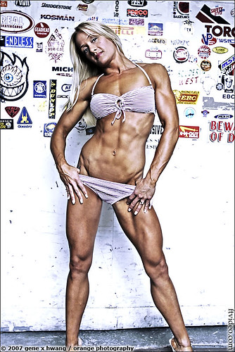 Monica Brennan From The Contra Costa Figure Competition