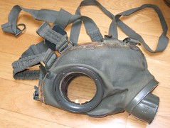 DSCF0033 (sibout) Tags: wwii collection ww2 worldwar2 militaria gasmasks bayonet mauser