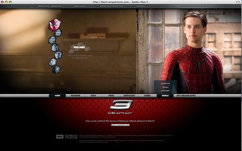 "Spider-man 3: Mobile ""storefront"" is NOT user language"