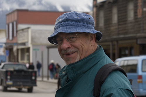 Dad in Skagway